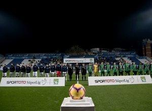 Kasımpaşa - Çaykur Rizespor maçından kareler