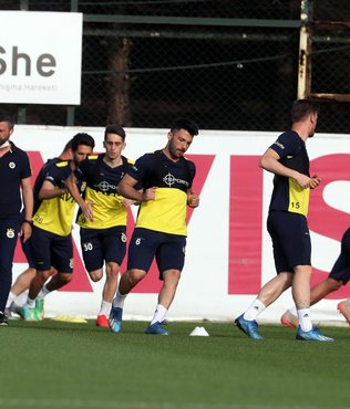 Fenerbahçe Kayseri mesaisine Samandıra'da devam etti