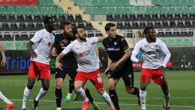 Denizlispor - Sivasspor: 1-1 (MAÇ SONUCU - ÖZET)