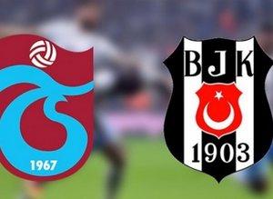 İlk 11'de sürpriz! Trabzonspor - Beşiktaş...