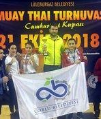 Çorlulu sporcular Cumhuriyet Kupası'ndan madalyalarla döndü
