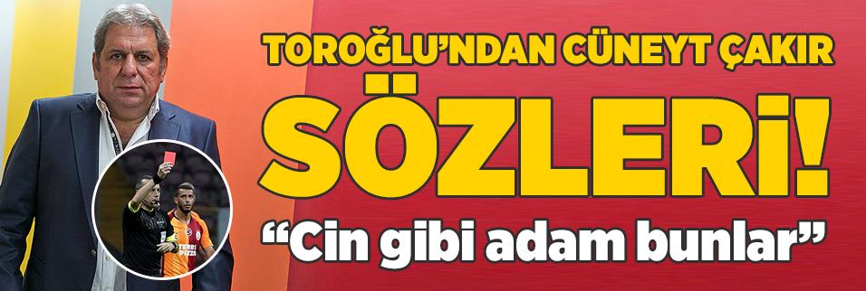 erman toroglundan cuneyt cakir sozleri cin gibi adam bunlar 1593983343232 - Cüneyt Çakır'a dev görev!