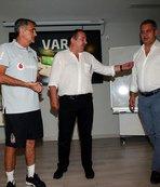 Beşiktaş'a VAR sistemi tanıtıldı