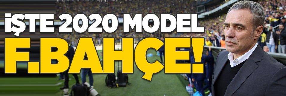 İşte yeni transferlerle 2020 model Fenerbahçe!