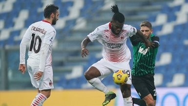 Milan beat Sassuolo, Leao scores fastest league goal