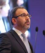 Spor Bakanı Kasapoğlu federasyon başkanlarıyla toplantı yapacak