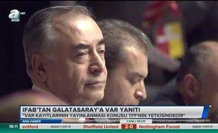 IFAB'dan Galatasaray'a VAR yanıtı