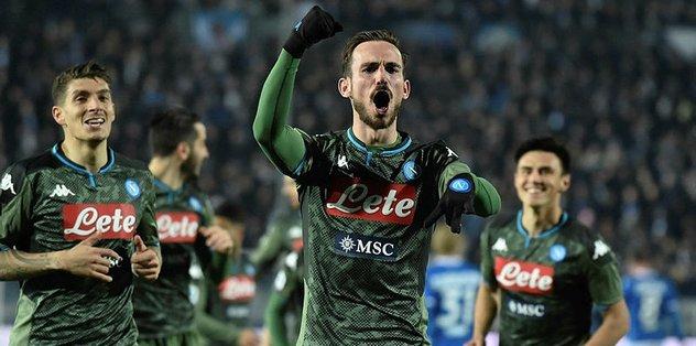 Napoli fişi 6 dakikada çekti