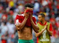 Nabil Dirar Portekiz yenilgisi sonrası gözyaşlarını tutamadı