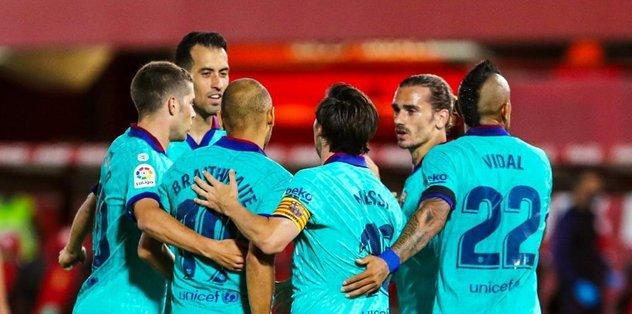Mallorca 0-4 Barcelona | MAÇ SONUCU - Son dakika İspanya La Liga ...