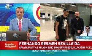 Fernando resmen Sevilla'da! İşte bonservis bedeli