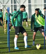 Konyaspor'da Gaziantep maçı hazırlıkları başladı