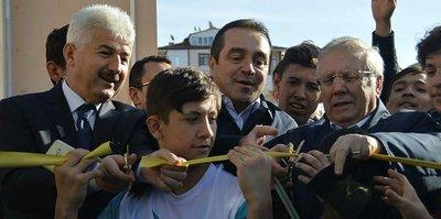 Aziz Yıldırım, Konya'da açılış yaptı