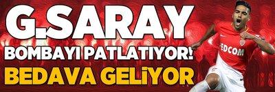 Galatasaray'a büyük müjde! Falcao bedava geliyor