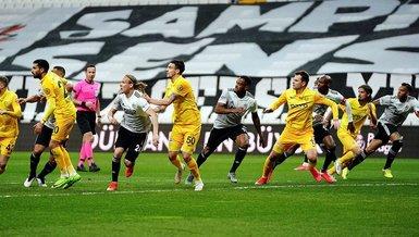 Son dakika spor haberleri: Beşiktaş Ankaragücü maçında Paintsil ve Emre Güral arasında penaltı anlaşmazlığı!