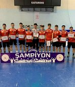 Hentbolda şampiyon Ortadoğulular