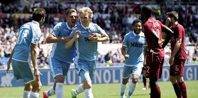 Roma derbisinde gülen Lazio