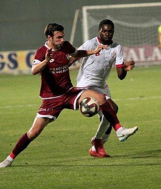 Boluspor, deplasmanda Tetiş Yapı Elazığspor'u 2-1 mağlup etti