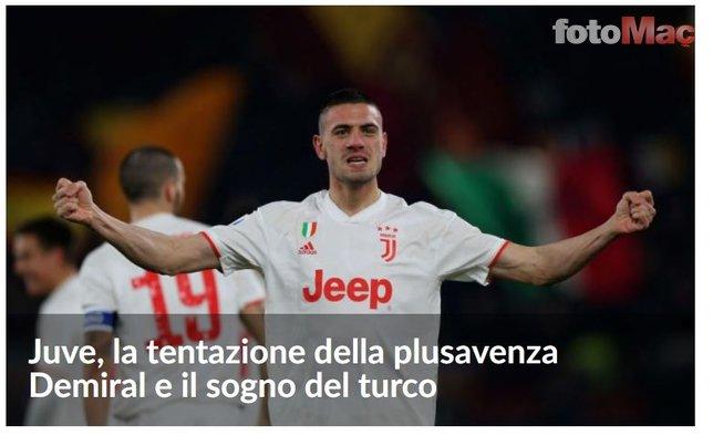 Juventus Merih Demiral için devleri reddediyor! 40 milyon Euro...