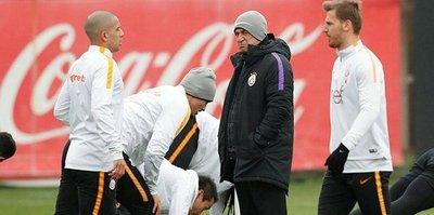 Galatasaray'da hazırlıklar sürdü