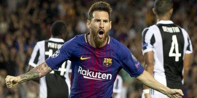 Messi 'Barça'ladı!