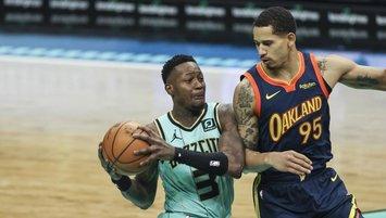 Hornets, Warriors'ı son saniyede mağlup etti!