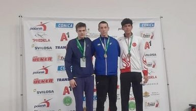 Atila Göktuğ Taşdelen, Balkan şampiyonasından madalya ile döndü