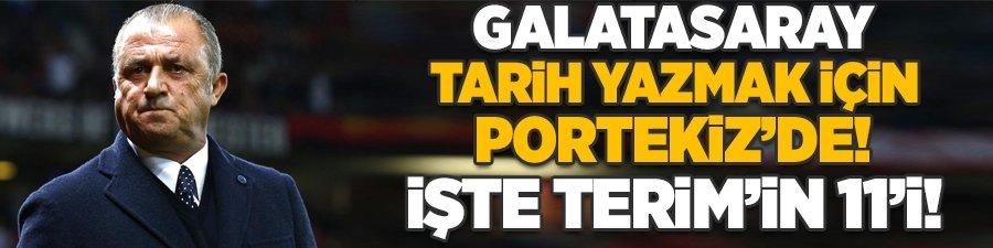 Galatasaray'da tek hedef zafer: İşte Terim'in 11'i!