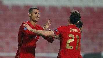Portekiz Andorra'ya gol olup yağdı