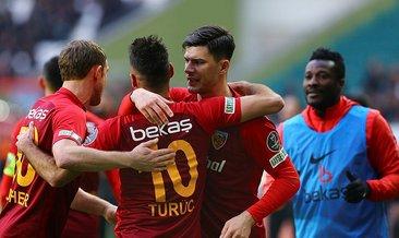 Kayserispor deplasmanda tek golle kazandı