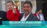 Trabzonspor'dan özel çocuklara anlamlı ziyaret