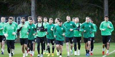 Atiker Konyaspor Belek'te hazırlıklarına devam etti
