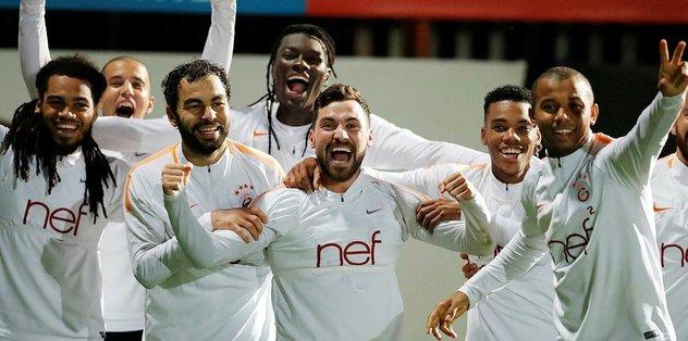 Galatasaray, hücum organizasyonu çalıştı
