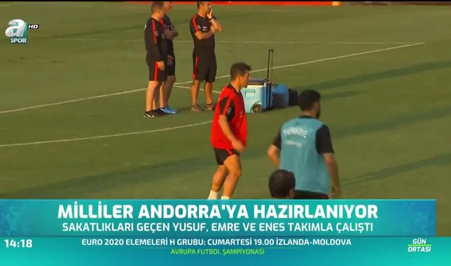 Milliler Andorra'ya hazırlanıyor
