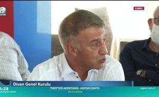 Ahmet Ağaoğlu: Trabzonspor gerçeği bazılarını rahatsız ediyor