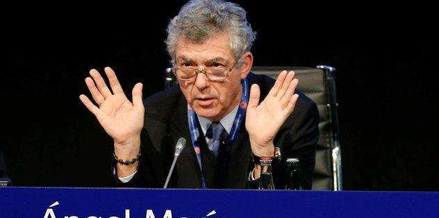 Villar, FIFA ve UEFA'dan istifa etti