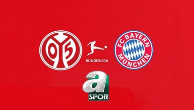 Mainz 05 Bayern Münih maçı CANLI İZLE   A Spor