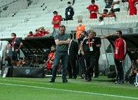 Sergen Yalçın'lı Beşiktaş'a ikinci şok Antalya'dan! İşte maçtan kareler...