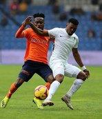 Medipol Başakşehir Antalyaspor maçının hazırlıklarını sürdürdü