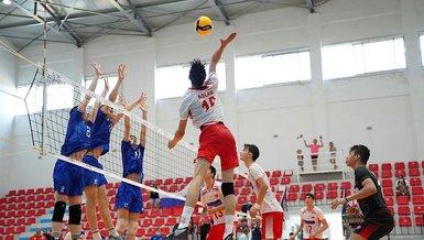 Rusya - Türkiye: 3-1   Voleybol CEV 17 Yaş Altı Genç Erkekler Avrupa Şampiyonası