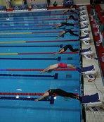 Paletli yüzmede 1 altın 1 bronz madalya