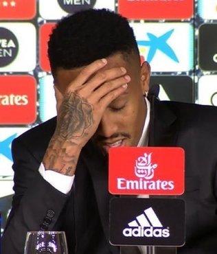 Real'in yeni transferi basın toplantısında rahatsızlandı!