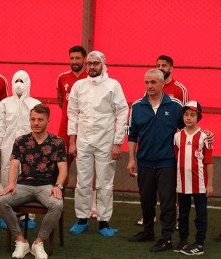 Sivasspor'da 3. kez corona virüsü testi yapıldı!