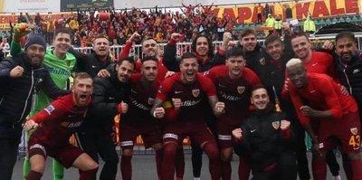 Kayserispor'un 8 kader haftası