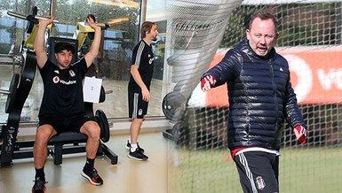 Beşiktaş hazırlıklarını devam etti