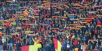 Malatya'da seyirci rekoru Beşiktaş maçında kırdı!