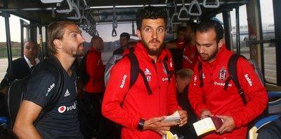 Beşiktaş'ın Çin seyahati sıkıntılı başladı