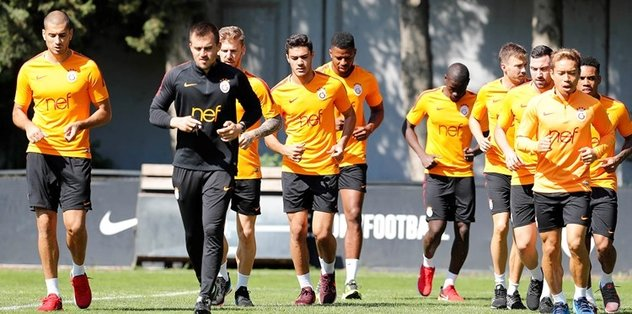 Galatasaray'da Şampiyonlar Ligi hazırlıkları başladı