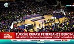 Fenerbahçe Beko kupasını böyle aldı