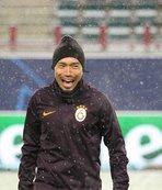 Galatasaray Lokomotiv Moskova maçı hazırlıklarını tamamladı